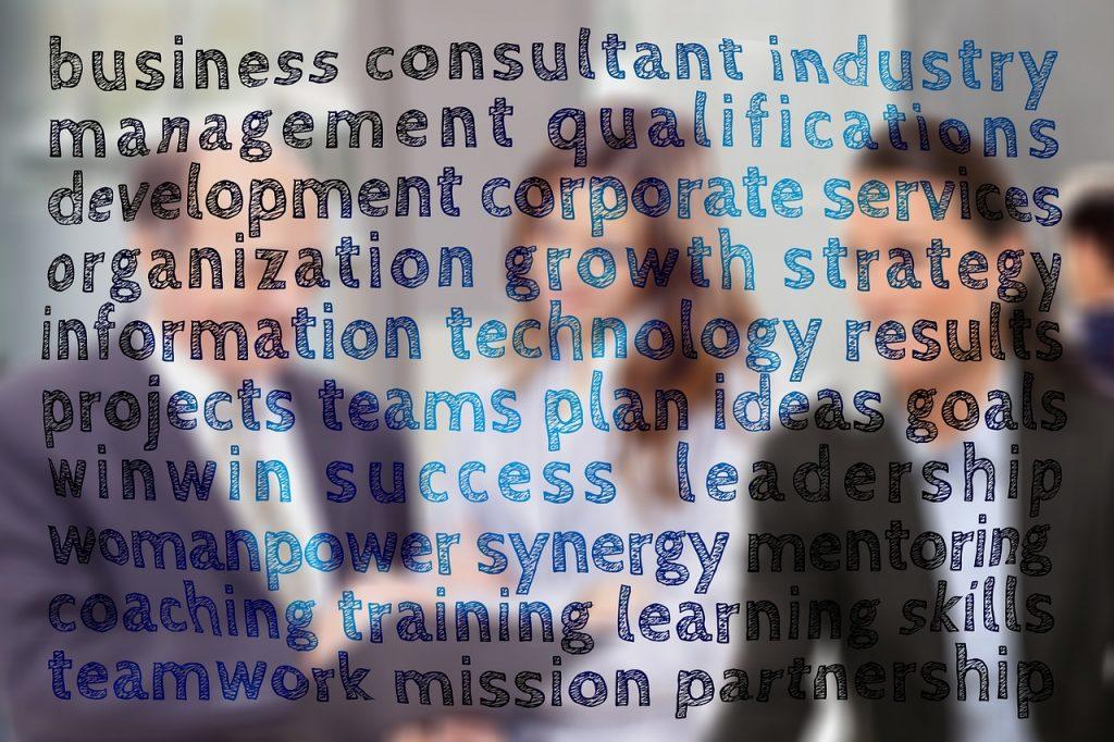 business, management, keywords