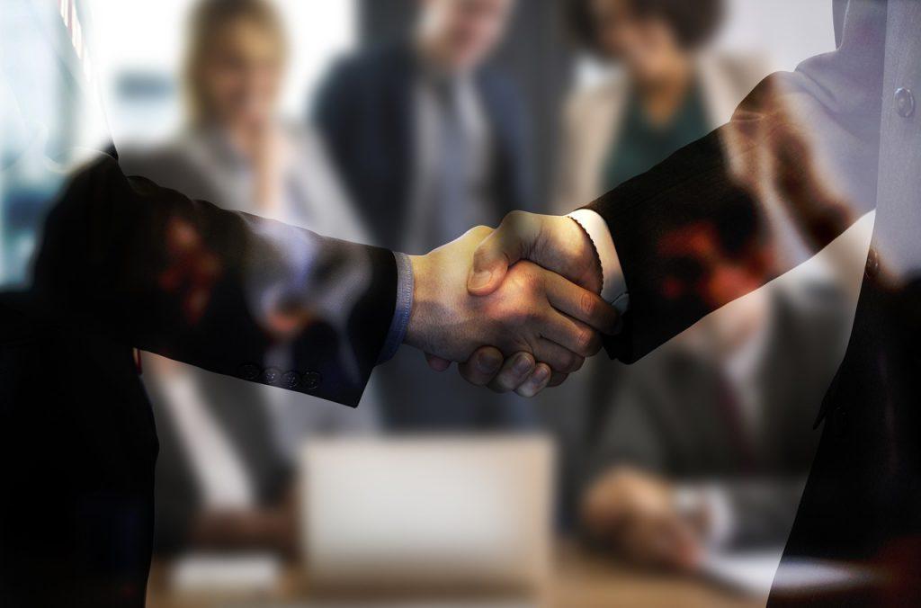 handshake, agreement, businessmen